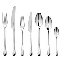 Набор столовых приборов на 12 персон, 84 предмета, сталь 18/10, серия Iona Bright, IONBR1099V/84, ROBERT WELCH, Великобритания
