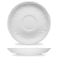 Блюдце кофейное, круглое, 11,4 cм, цвет белый, серия Mozart, BAUSCHER, Германия