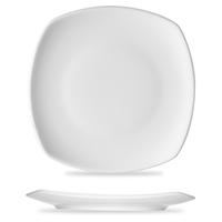 Тарелка квадратная 27,6 см, цвет белый, серия Options, BAUSCHER, Германия