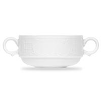 Чашка суповая с ручками 280 мл, фарфор, цвет белый, серия Mozart, BAUSCHER, Германия