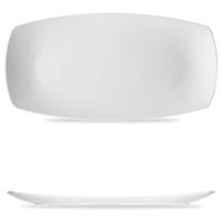 Блюдо прямоугольное 41,3х21,1 см, цвет белый, серия Options, BAUSCHER, Германия