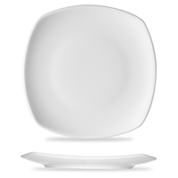 Тарелка квадратная 21,6 см, цвет белый, серия Options, BAUSCHER, Германия