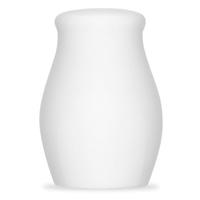 Солонка h 6,9 см, фарфор, цвет белый, серия Mozart, BAUSCHER, Германия