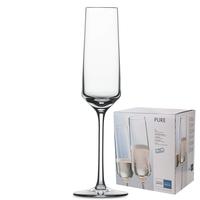 Набор фужеров для шампанского 209 мл, 6 штук, серия Pure, SCHOTT ZWIESEL, Германия