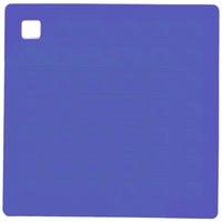Прихватка для горячего/подставка, 17,5х17,5 см, силикон, цвет ярко-голубой, серия Marty for Party, SILIKOMART, Италия
