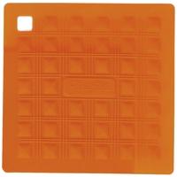 Прихватка для горячего/подставка, 17,5х17,5 см, силикон, цвет оранжевый, серия Marty for Party, SILIKOMART, Италия