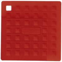 Прихватка для горячего/подставка, 17,5х17,5 см, силикон, цвет красный, серия Marty for Party, SILIKOMART, Италия