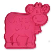 Форма для кексов корова, силикон, серия Marty for Party, SILIKOMART, Италия