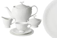 Чайный сервиз Anna Lafarg Белый город 21 предмет на 6 персон