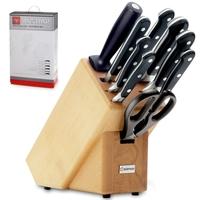 Набор ножей 9 предметов в подставке, серия Classic, WUESTHOF, Золинген, Германия