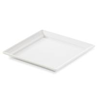 Блюдо квадратное 13,2х13,2х1,5 см, фарфор, цвет белый, серия Time Square, REVOL, Франция
