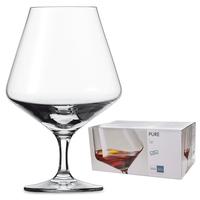 Набор бокалов для коньяка 616 мл, 6 штук, серия Pure, SCHOTT ZWIESEL, Германия