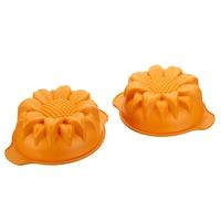 Форма для запекания Подсолнух , d 18 см, h 7,5 см, желтый, серия Fancy&Function, SILIKOMART, Италия