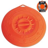 Крышка, dia 25,5 см, силиконовая, цвет оранжевый, серия UFO, SILIKOMART, Италия