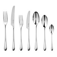 Набор столовых приборов на 6 персон, 42 предмета, IONBR900V/42, сталь 18/10, серия Iona Bright, ROBERT WELCH, Великобритания