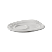 Блюдце для арт.RGO0108, 13х10х2 см, цвет белый Froisses, серия Froisses, REVOL, Франция