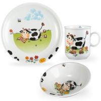 Сервиз детский 3 предмета, Kuhe (кружка, тарелка 20 см, салатник 16 см), серия Kinderseries, SELTMANN WEIDEN, Германия