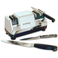 Точилка электрическая для заточки ножей, хром, серия Knife sharpeners, CHEFS CHOICE, США
