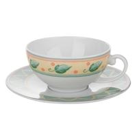 Чашка чайная 0,15л.с блюдцем, серия Holiday Siesta, SELTMANN, Германия