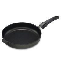 Сковорода, dia 24 см, h 5 см, съемная ручка, литой алюминий с антипригарным покрытием, толщина дна - 10 мм, серия Frying Pans, AMT, Германия