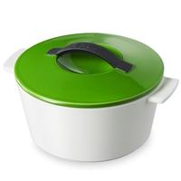 Кастрюля с крышкой круглая 1,5 л, цвет зеленый, серия Revolution, REVOL, Франция