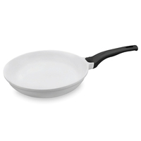 Сковорода, dia 26 см, литой алюминий с керамическим покрытием, цвет белый, серия Fundicion, LACOR, Испания