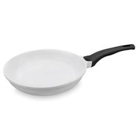 Сковорода, dia 28 см, литой алюминий с керамическим покрытием, цвет белый, серия Fundicion, LACOR, Испания