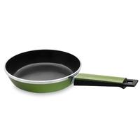 Сковорода, dia 20 см, литой алюминий с керамическим покрытием, цвет зеленый, серия Fundicion, LACOR, Испания