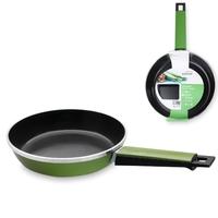 Сковорода, dia 28 см, литой алюминий с керамическим покрытием, цвет зеленый, серия Fundicion, LACOR, Испания