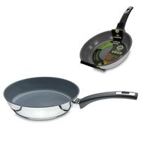Сковорода, dia 20 см, h 5,5 см, нерж.сталь с керамическим покрытием, серия Domestica, LACOR, Испания