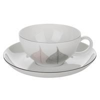 Чашка чайная с блюдцем 0,21 л, серия Lido Elba, SELTMANN, Германия