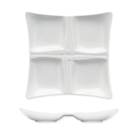 Менажница 20x20 см, цвет белый, серия Pleasure, BAUSCHER, Германия