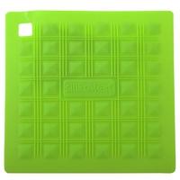 Прихватка для горячего/подставка 17,5х17,5 см, силикон, цвет зеленый, серия Marty for Party, SILIKOMART, Италия