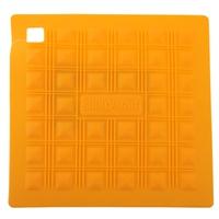 Прихватка для горячего/подставка силикон 17,5х17,5 см, желтая, серия Marty for Party, SILIKOMART, Италия
