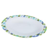 Тарелка десертная 23 см, декор Kilt, серия Trio, SELTMANN, Германия