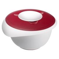 Миска для смешивания с 2-мя крышками 3,0л., цвет красный, серия Baking, Westmark, Германия