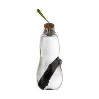 Эко-бутылка для воды Eau good с фильтром-ионизатором, 800 мл, материал: Binchotan, пищевой пластик, пробка, металл, размер : 24 x 8,5 см, цвет: лайм, BLACK+BLUM, Великобритания