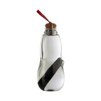 Эко-бутылка для воды Eau good с фильтром-ионизатором, 800 мл, материал: Binchotan, пищевой пластик, пробка, металл, размер : 24 x 8,5 см, цвет: красный, BLACK+BLUM, Великобритания