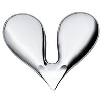 Приспособление для чистки орехов, материал сталь 18.10, размер 4 x 3,5 см, цвет металлик, ALESSI, Италия