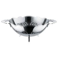 Дуршлаг Dressed, материал сталь 18.10, диаметр 24 см, высота 12 см, цвет металлик, ALESSI, Италия