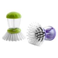 Щетка для мытья посуды с емкостью для моющего средства, серия Eco, IBILI, Испания