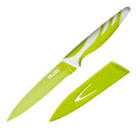 Нож кухонный 12,5 см, цвет зеленый, серия Easycook, IBILI, Испания