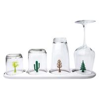 Сушка для бокалов и стаканов Four Seasons, материал: пластик, цвет: белый, QUALY, Таиланд