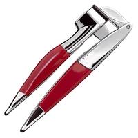 Пресс для чеснока, материал: нержавеющая сталь, пластик, цвет: красный, KITCHENAID, США