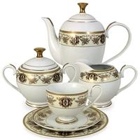 "Сервиз чайный ""Султан"", 23 предмета, на 6 персон, материал: фарфор, MIDORI, Китай"