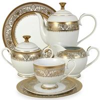 "Сервиз чайный ""Персия"", 42 предмета, на 12 персон, материал: фарфор, MIDORI, Китай"