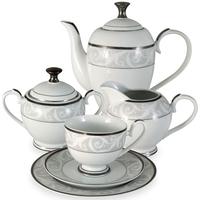 "Сервиз чайный ""Шарлиз"", 23 предмета, на 6 персон, материал: фарфор, MIDORI, Китай"