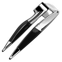 Пресс для чеснока, материал: нержавеющая сталь, пластик, цвет: черный, KITCHENAID, США