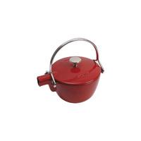 Чайник круглый, 16,5 см, 1,15 л, гранатовый